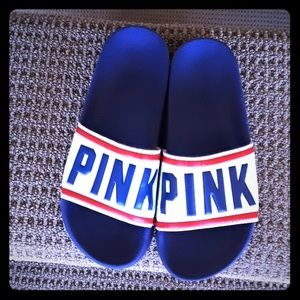 Pink Victoria Secret  sandals size Medium